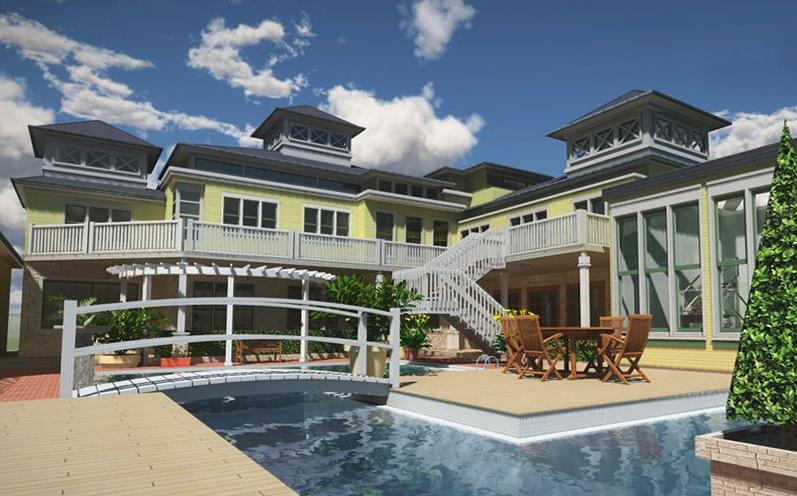 rendu 3d architecture blog de l 39 cole 3d e tribart. Black Bedroom Furniture Sets. Home Design Ideas