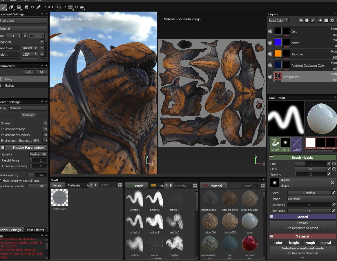 Infographiste 3d les 3d painting tools blog d 39 e tribart for 3d logiciel