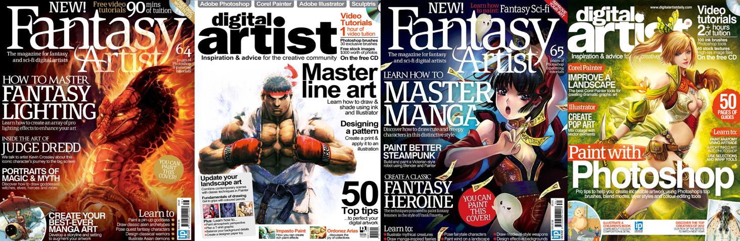 digital artist fantasy artist