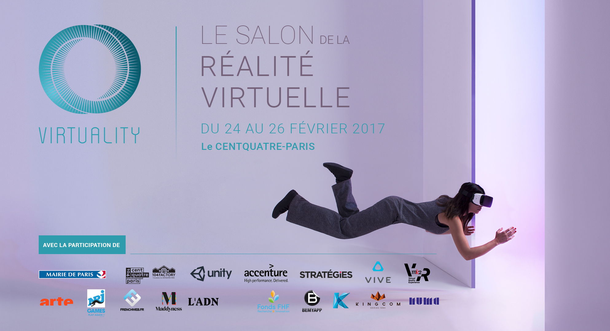virtuality salon réalité virtuelle paris