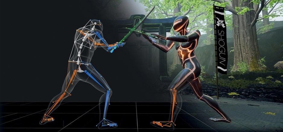 shogun motion capture