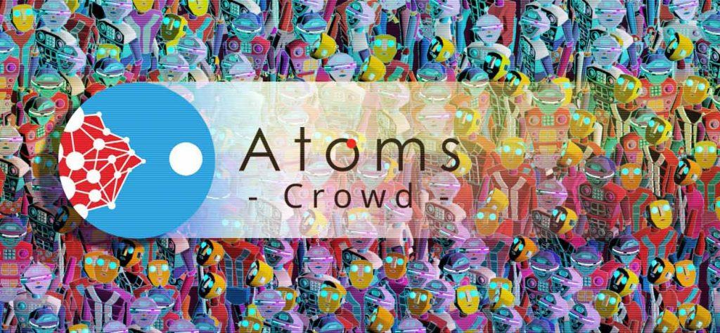 3 nouveautés logiciels atoms crowd