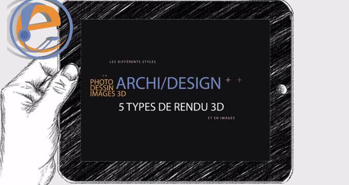 rendu 3D architecture