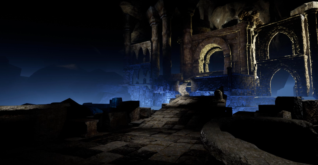 3d environment unreal engine